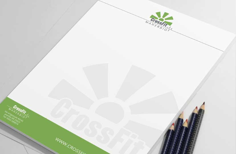 carta intestata logo design