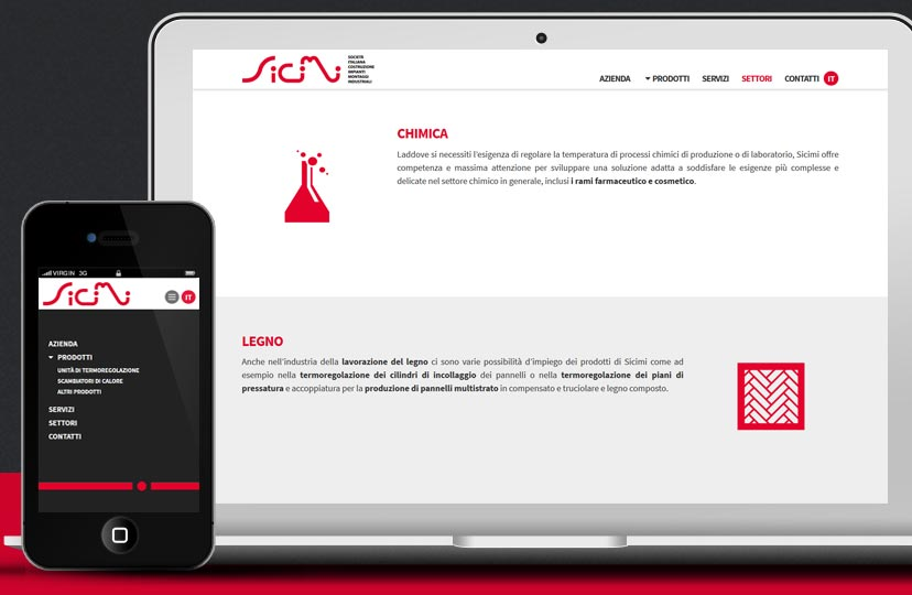 Responsive design industrial company